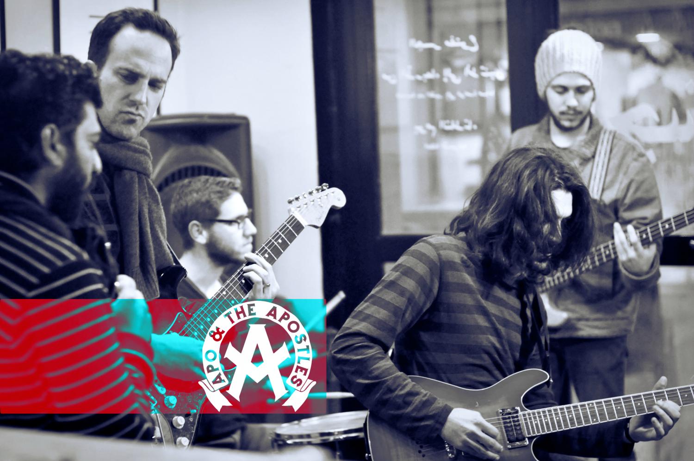 הגל המוסיקלי החדש בין ירושלים לראמאללה Apo & the Apostles