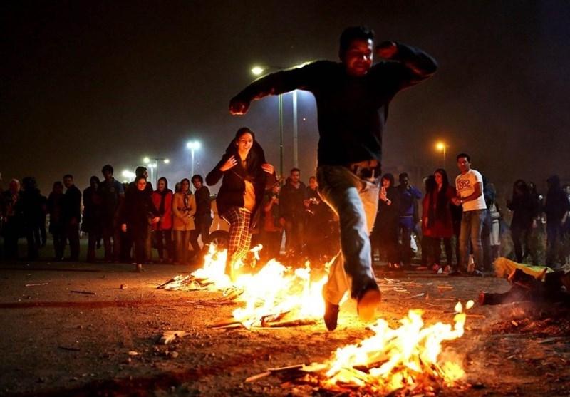 چهارشنبه سوری צ'הֹאר שַנבֶּה סוּרִי, פסטיבל האש האיראני